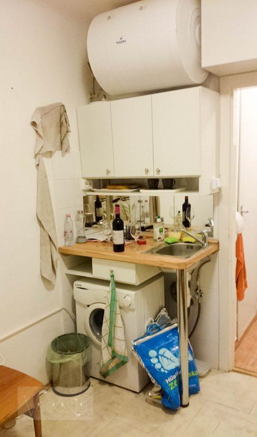 Bojler a konyha fölött
