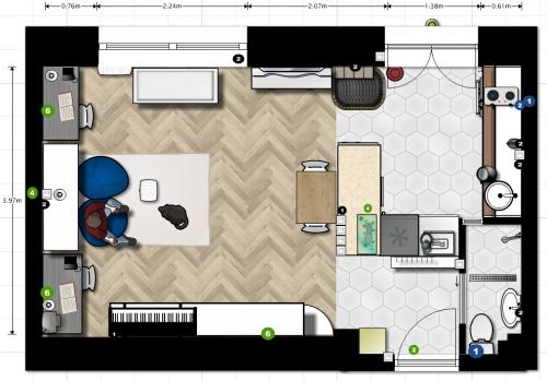 lakás alaprajza felújítás