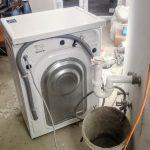 Egyszer használatos mosógépszerelés
