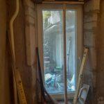 Alul kész, most fölül szárad a beton