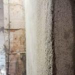 A sarkok textúrája közelről