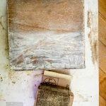 40-es csiszolóvászonnal támadtam a maradék festéket