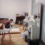 A bútorszereléseket majd a következő bejegyzésben mutatom meg