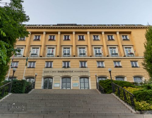 A II. kerületi hivatal épülete
