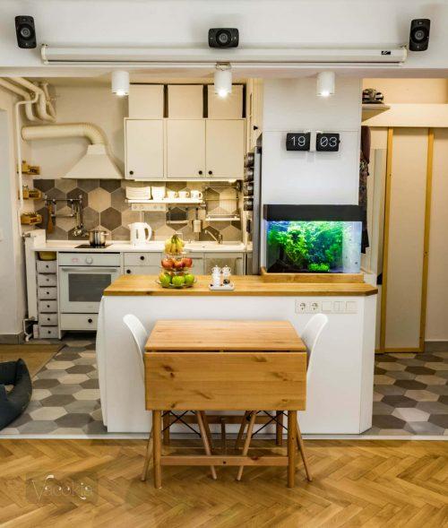 Felújítás után így néz ki a konyha