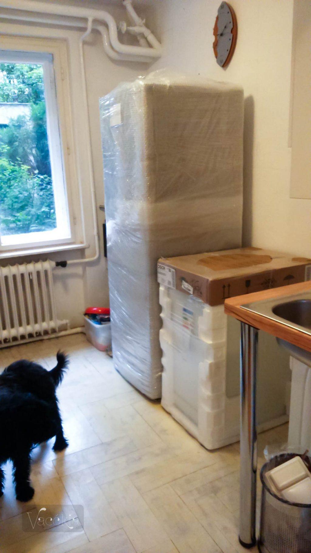 Ekkora fagyasztós hűtő lesz a 28 négyzetméteres lakásban