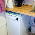 A mosogatógép már végleges, később beépítjük