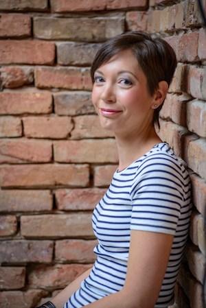 Erdélyi Boróka, a könyv szerzője