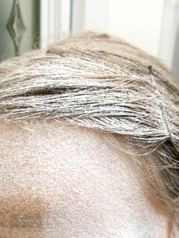 Hajam a glett csiszolása után :D