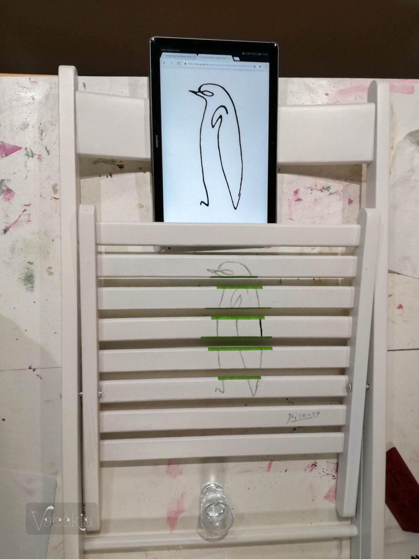 Kezdődik a pingvinfestés